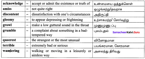 Figure Of Speech In The Poem The Grumble Family Samacheer Kalvi 10th English Solutions Poem Chapter 2