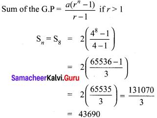 10 Class Math Exercise 2.8 Solution Pdf Samacheer Kalvi
