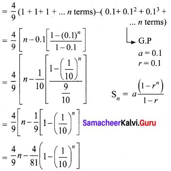 Exercise 2.8 Class 10 Maths Samacheer Kalvi