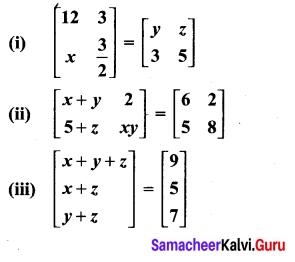 10th Maths Exercise 3.16 Graph Solution Samacheer Kalvi