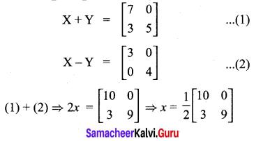 10th Maths Exercise 3.17 Answers 2021 Samacheer Kalvi