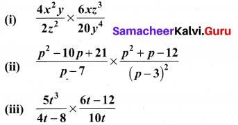 10th Maths Exercise 3.5 Samacheer Kalvi Algebra