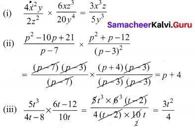 Ex 3.5 Class 10 Samacheer Algebra