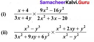 0th Maths Exercise 3.5 Samacheer Algebra