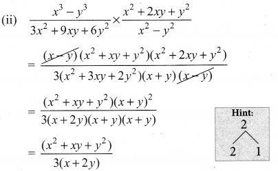 10th Maths Exercise 3.5 Solution Algebra