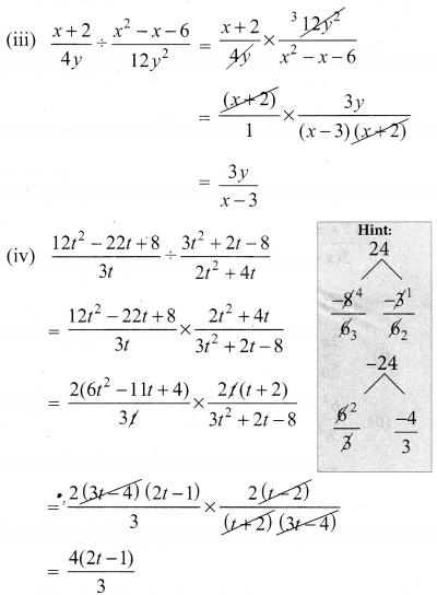 Samacheer Kalvi 10th Solutions Algebra