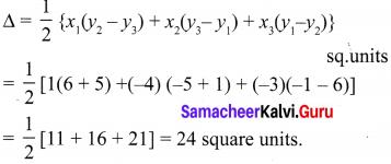 Samacheer Kalvi 10th Maths Chapter 5 Coordinate Geometry Additional Questions 8
