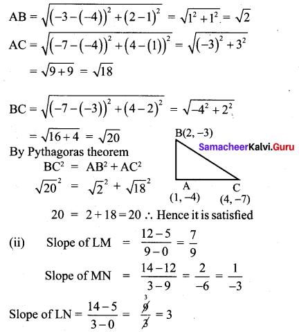 Class 10 Maths Chapter 5 Exercise 5.2 Samacheer Kalvi 1