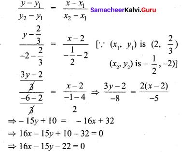 Chapter 5 Maths Class 10 Exercise 5.3 samcheerkalvi