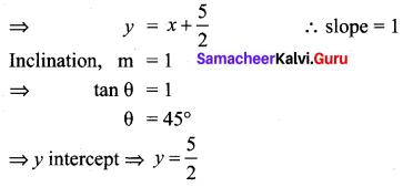 Ex 5.3 Class 10 Samacheer Coordinate Geometry