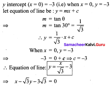 10th Samacheer Maths Exercise 5.3 Answers Coordinate Geometry