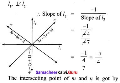 Samacheer Kalvi 10th Maths Chapter 5 Coordinate Geometry Ex 5.4 18
