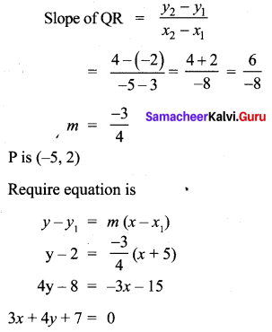 10th Samacheer Maths