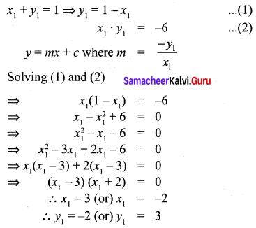Samacheer Kalvi 10th Maths Chapter 5 Coordinate Geometry Unit Exercise 5 8