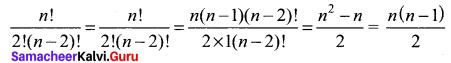 Samacheer Kalvi 11th Maths Solutions Chapter 4 Combinatorics and Mathematical Induction Ex 4.1 34