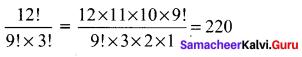Samacheer Kalvi 11th Maths Solutions Chapter 4 Combinatorics and Mathematical Induction Ex 4.1 35
