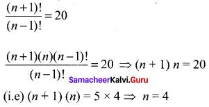 Samacheer Kalvi 11th Maths Solutions Chapter 4 Combinatorics and Mathematical Induction Ex 4.1 45