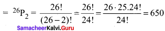 Samacheer Kalvi 11th Maths Solutions Chapter 4 Combinatorics and Mathematical Induction Ex 4.1 50