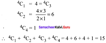 Samacheer Kalvi 11th Maths Solutions Chapter 4 Combinatorics and Mathematical Induction Ex 4.2 20