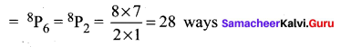 Samacheer Kalvi 11th Maths Solutions Chapter 4 Combinatorics and Mathematical Induction Ex 4.2 28