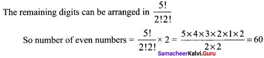 Samacheer Kalvi 11th Maths Solutions Chapter 4 Combinatorics and Mathematical Induction Ex 4.2 33