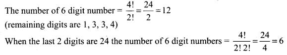 Samacheer Kalvi 11th Maths Solutions Chapter 4 Combinatorics and Mathematical Induction Ex 4.2 34