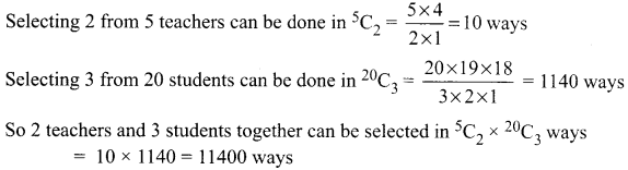 Samacheer Kalvi 11th Maths Solutions Chapter 4 Combinatorics and Mathematical Induction Ex 4.3 43