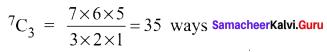 Samacheer Kalvi 11th Maths Solutions Chapter 4 Combinatorics and Mathematical Induction Ex 4.3 46