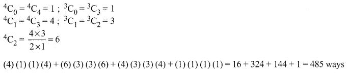 Samacheer Kalvi 11th Maths Solutions Chapter 4 Combinatorics and Mathematical Induction Ex 4.3 57