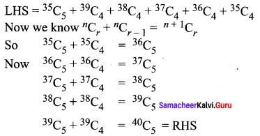 Samacheer Kalvi 11th Maths Solutions Chapter 4 Combinatorics and Mathematical Induction Ex 4.3 6