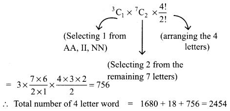 Samacheer Kalvi 11th Maths Solutions Chapter 4 Combinatorics and Mathematical Induction Ex 4.3 600
