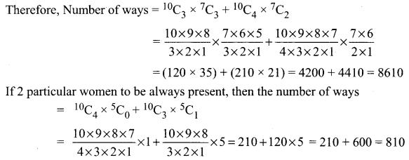 Samacheer Kalvi 11th Maths Solutions Chapter 4 Combinatorics and Mathematical Induction Ex 4.3 73