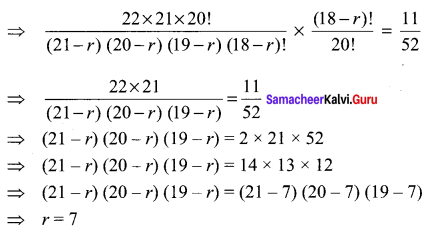 Samacheer Kalvi 11th Maths Solutions Chapter 4 Combinatorics and Mathematical Induction Ex 4.3 77