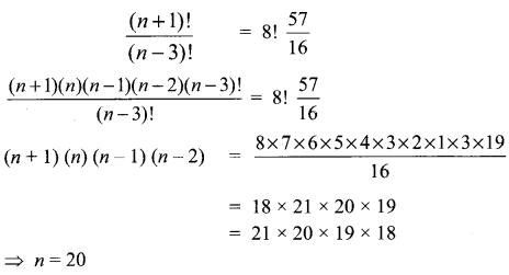 Samacheer Kalvi 11th Maths Solutions Chapter 4 Combinatorics and Mathematical Induction Ex 4.3 8