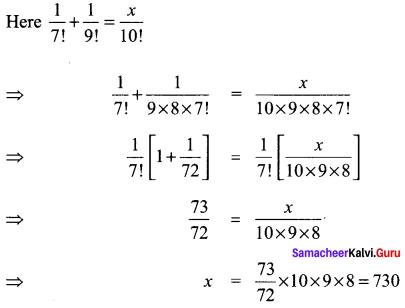 Samacheer Kalvi 11th Maths Solutions Chapter 4 Combinatorics and Mathematical Induction Ex 4.3 91