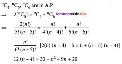 Samacheer Kalvi 11th Maths Solutions Chapter 4 Combinatorics and Mathematical Induction Ex 4.5 83