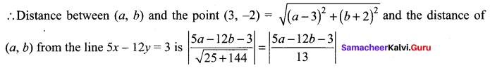 Samacheer Kalvi 11th Maths Solutions Chapter 6 Two Dimensional Analytical Geometry Ex 6.1 799