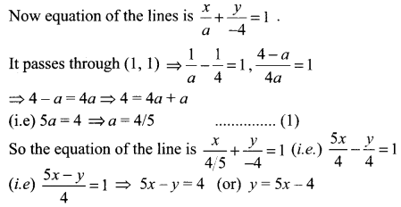 Samacheer Kalvi 11th Maths Solutions Chapter 6 Two Dimensional Analytical Geometry Ex 6.2 1