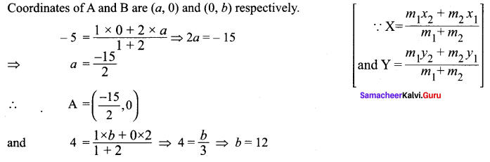 Samacheer Kalvi 11th Maths Solutions Chapter 6 Two Dimensional Analytical Geometry Ex 6.2 53