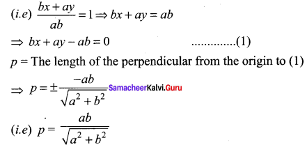 Samacheer Kalvi 11th Maths Solutions Chapter 6 Two Dimensional Analytical Geometry Ex 6.2 6