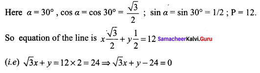 Samacheer Kalvi 11th Maths Solutions Chapter 6 Two Dimensional Analytical Geometry Ex 6.2 65