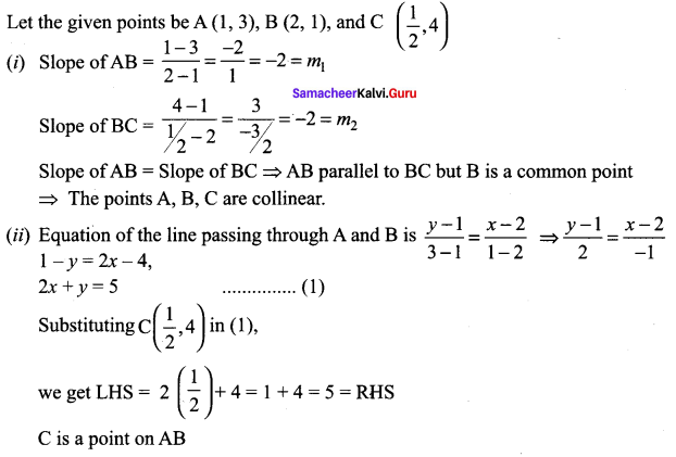 Samacheer Kalvi 11th Maths Solutions Chapter 6 Two Dimensional Analytical Geometry Ex 6.2 69