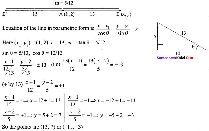 Samacheer Kalvi 11th Maths Solutions Chapter 6 Two Dimensional Analytical Geometry Ex 6.2 71
