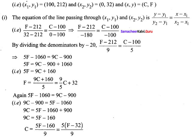 Samacheer Kalvi 11th Maths Solutions Chapter 6 Two Dimensional Analytical Geometry Ex 6.2 8