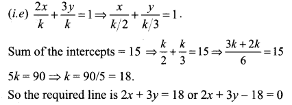 Samacheer Kalvi 11th Maths Solutions Chapter 6 Two Dimensional Analytical Geometry Ex 6.3 87