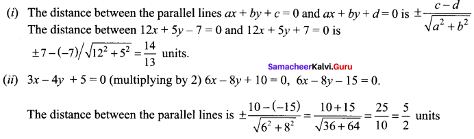 Samacheer Kalvi 11th Maths Solutions Chapter 6 Two Dimensional Analytical Geometry Ex 6.3 91