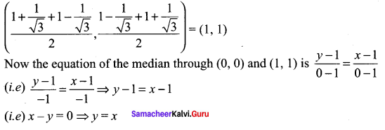Samacheer Kalvi 11th Maths Solutions Chapter 6 Two Dimensional Analytical Geometry Ex 6.4 43