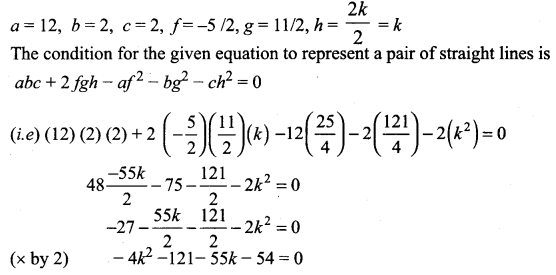 Samacheer Kalvi 11th Maths Solutions Chapter 6 Two Dimensional Analytical Geometry Ex 6.4 48