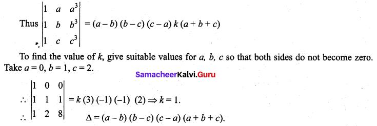 Samacheer Kalvi 11th Maths Solutions Chapter 7 Matrices and Determinants Ex 7.3 19