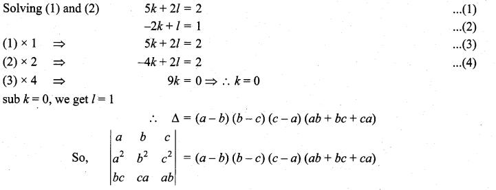 Samacheer Kalvi 11th Maths Solutions Chapter 7 Matrices and Determinants Ex 7.3 26